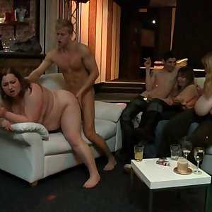 She enjoys cock and palm into her snatch