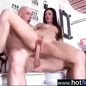 (india summer) Hot Mature Lady Acting Like A Star In Porn Tape clip-21