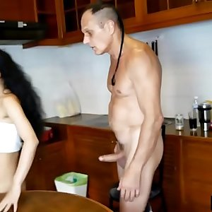Cheating Thai wife fucks spouse and then another guy