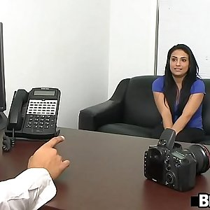 Latina beauty Rikki Nyx very first porn ever.1