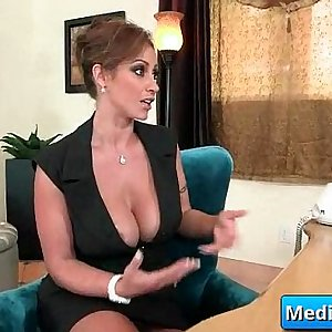 Busty secretary fucked at work 13