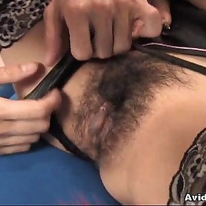 Sexy woman Ami Matsuda receiving pussy pleasures