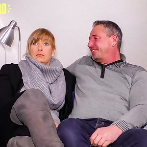 AMATEUR EURO - German Lady Debby Fucks In Her Very Very first Porn Tape