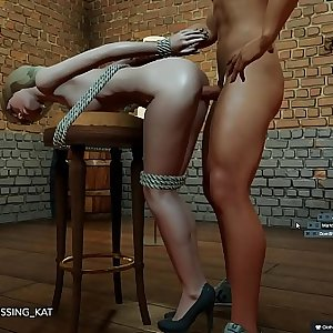 Anal Hot Lovemaking at a 3DXChat Club (patreon/Kissing Kat)