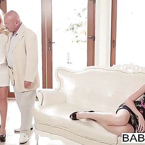 Babes - Step Mom Lessons - (Viktor Solo  Candee Licious  Nadia Bella) - Face Off