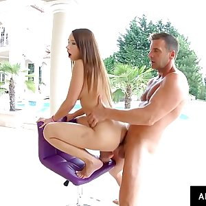 Crazy creampie for Taylor Sands