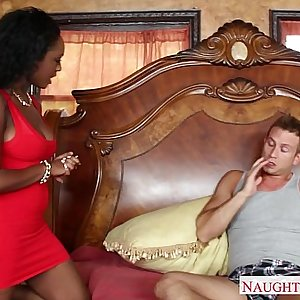 Seized gf in red dress Layton Benton gets pussy bitchy